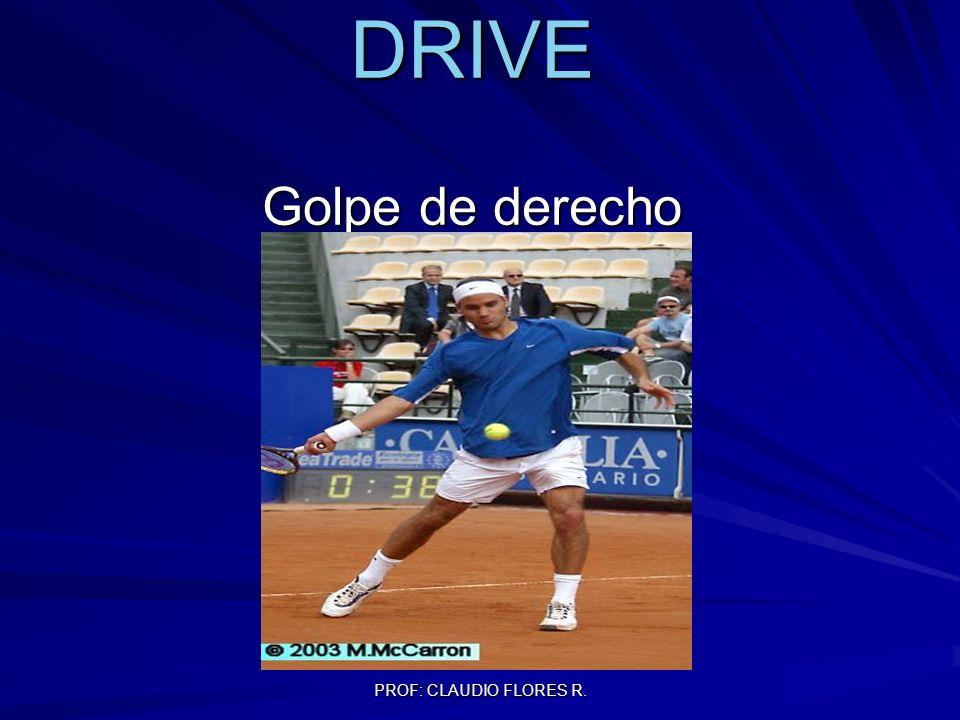 PROF: CLAUDIO FLORES R. DRIVE Golpe de derecho