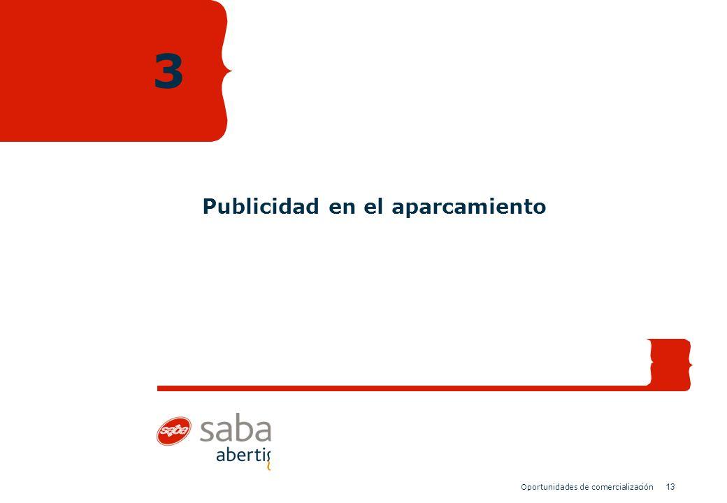 13 Oportunidades de comercialización Publicidad en el aparcamiento 3