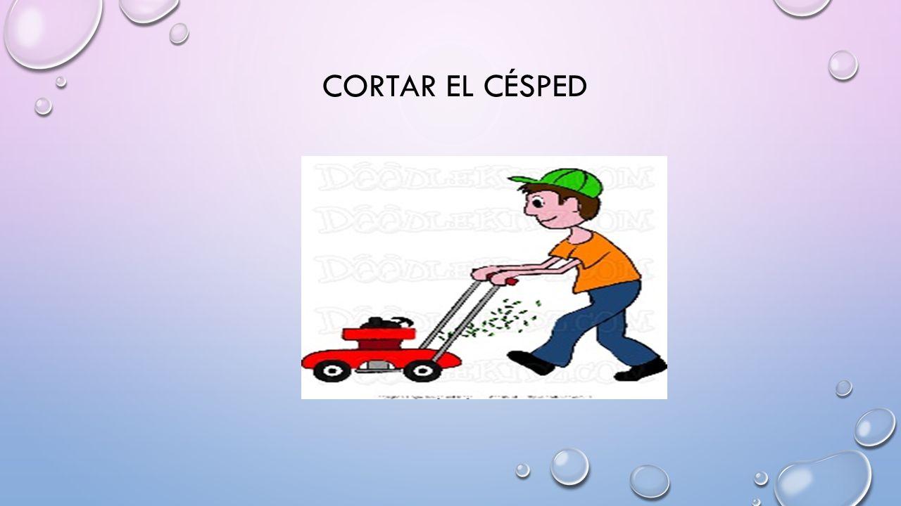 CORTAR EL CÉSPED