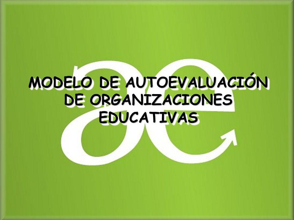 MODELO DE AUTOEVALUACIÓN DE ORGANIZACIONES EDUCATIVAS