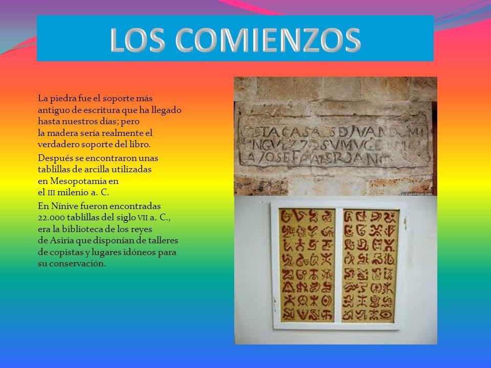 INTRODUCCIÓN La historia de los libros ocurrió por una serie de innovaciones tecnológicas que han permitido mejorar la calidad y conservación de los textos y el acceso a la información.