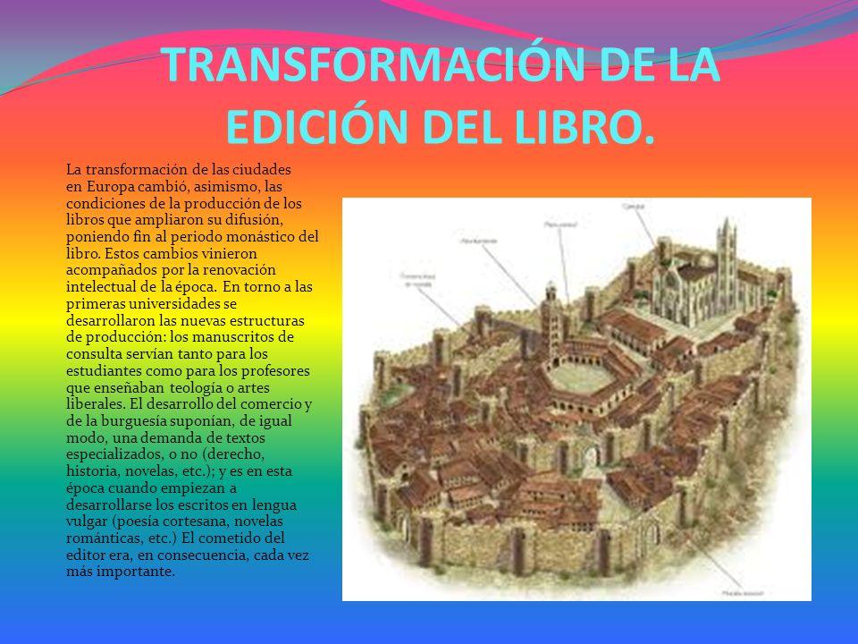 EDAD MEDIA Finalizando la Edad Antigua entre los siglos II y III, y ya en la Edad Media, el códice sustituyó al volumen.