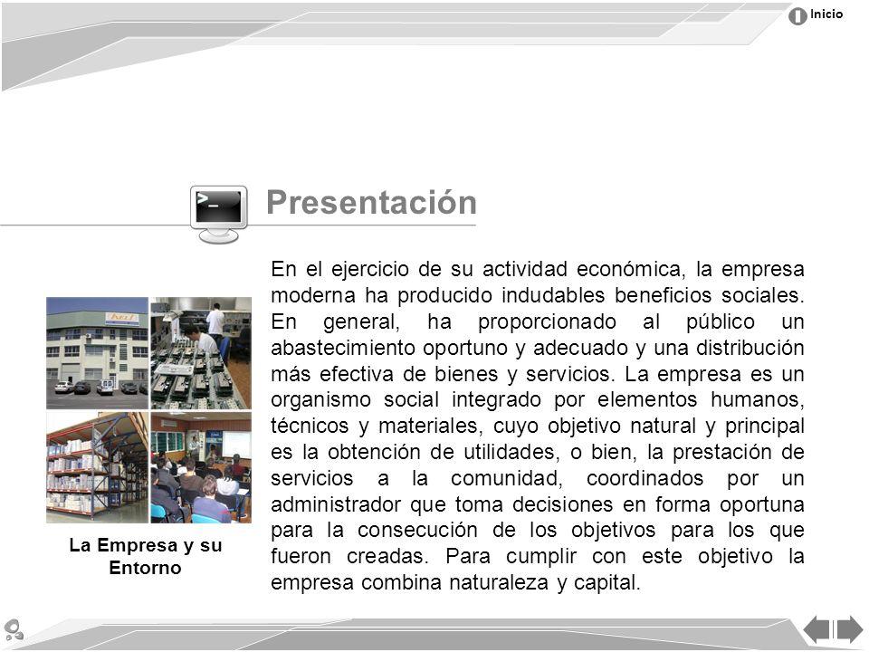 Inicio En el ejercicio de su actividad económica, la empresa moderna ha producido indudables beneficios sociales.