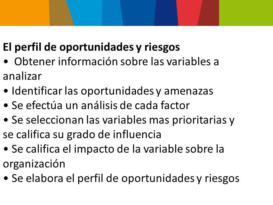 Determinado por: los productos, el mercado, la competencia, la calidad y el servicio Análisis de la industria Análisis del competidor Análisis de la evolución de la industria Análisis competitivo – Micro Intorno