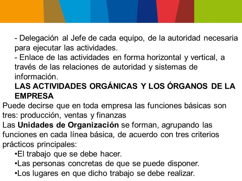 DISEÑO ORGANIZACIONAL ANÁLISIS Y DISEÑO DE LA ESTRUCTURA DE LA ORGANIZACIÓN La estructura formal de la organización o estructura de organización es el resultado de normas y prescripciones sobre la manera en que se interrelacionan las unidades orgánicas y la manera en que se desarrollan las actividades.