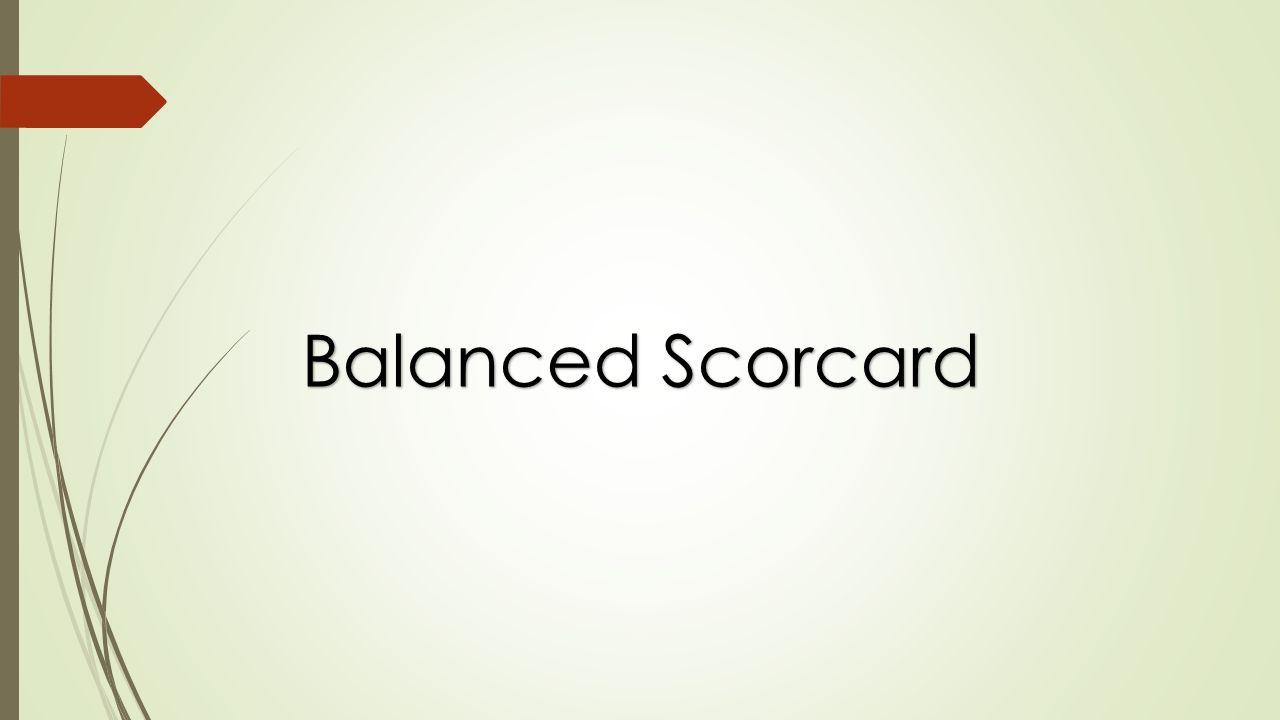 Balanced Scorcard