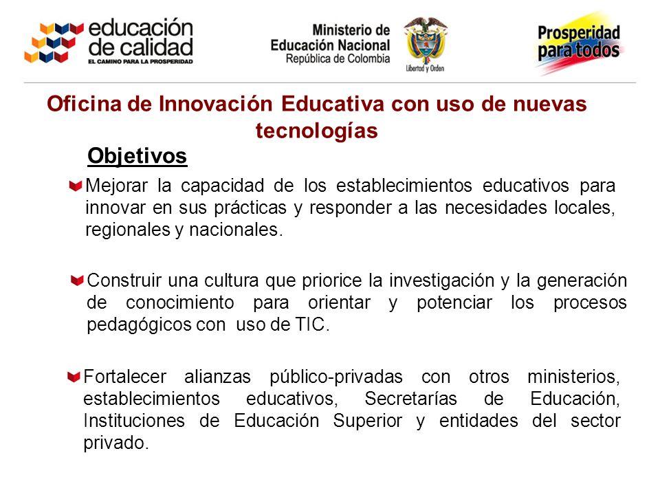 Fortalecer alianzas público-privadas con otros ministerios, establecimientos educativos, Secretarías de Educación, Instituciones de Educación Superior y entidades del sector privado.