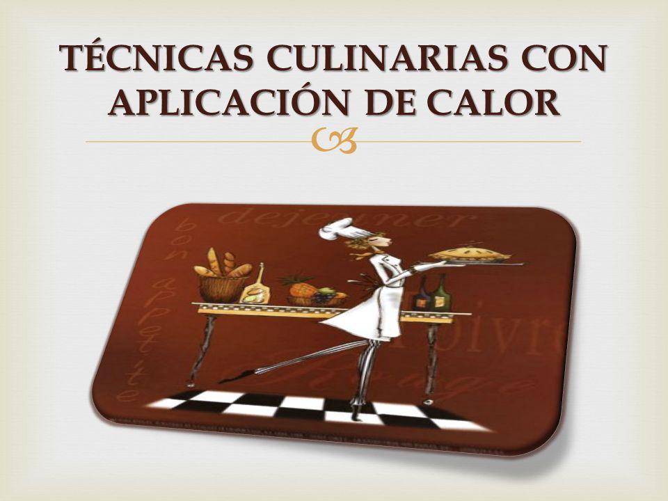   TÉCNICA  CULINARIA Es una forma creativa de preparar los alimentos y depende mucho de la cultura su forma de prepararlos ¿Que Es ??????? Es un pr