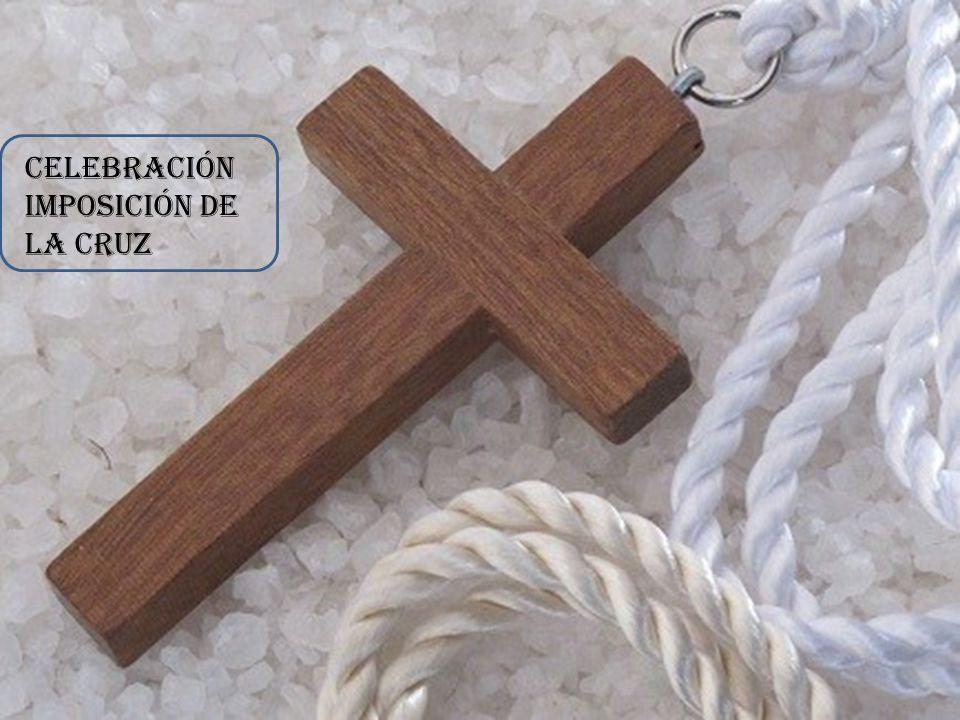 Celebración imposición de la cruz