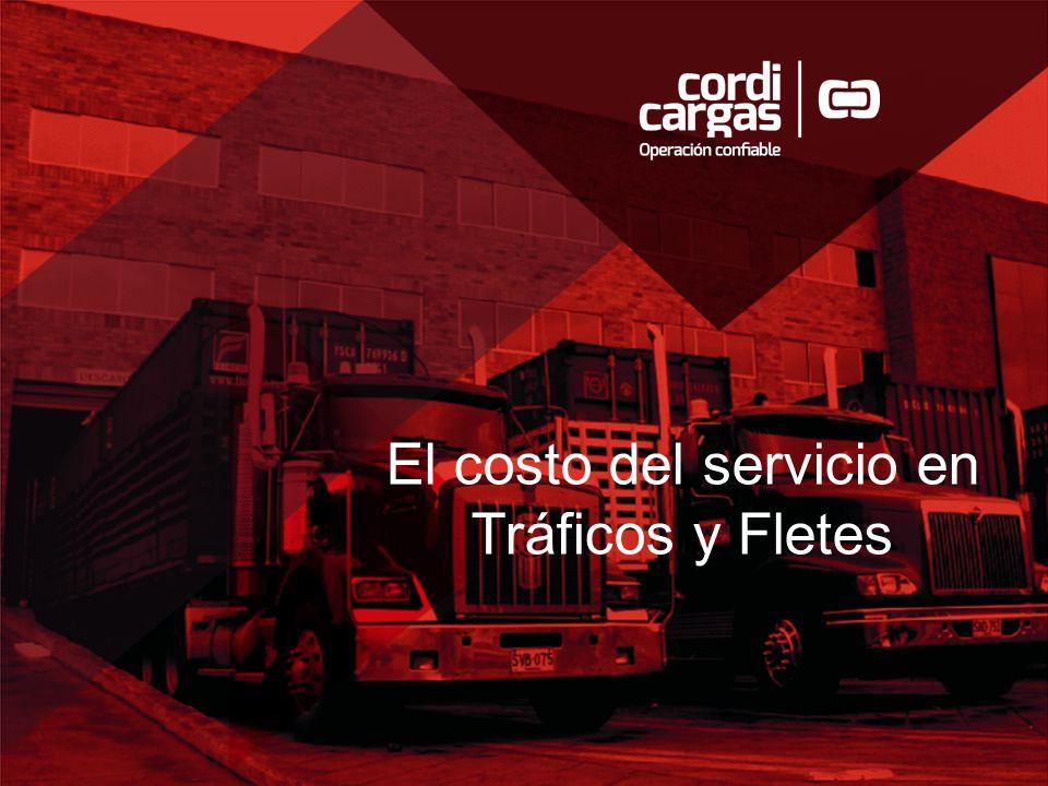 El costo del servicio en Tráficos y Fletes
