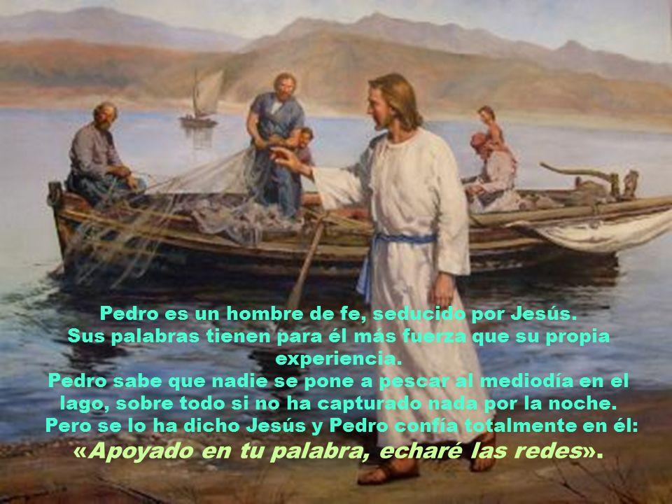 RECONOCER EL PECADO El relato de «la pesca milagrosa» en el lago de Galilea fue muy popular entre los primeros cristianos.