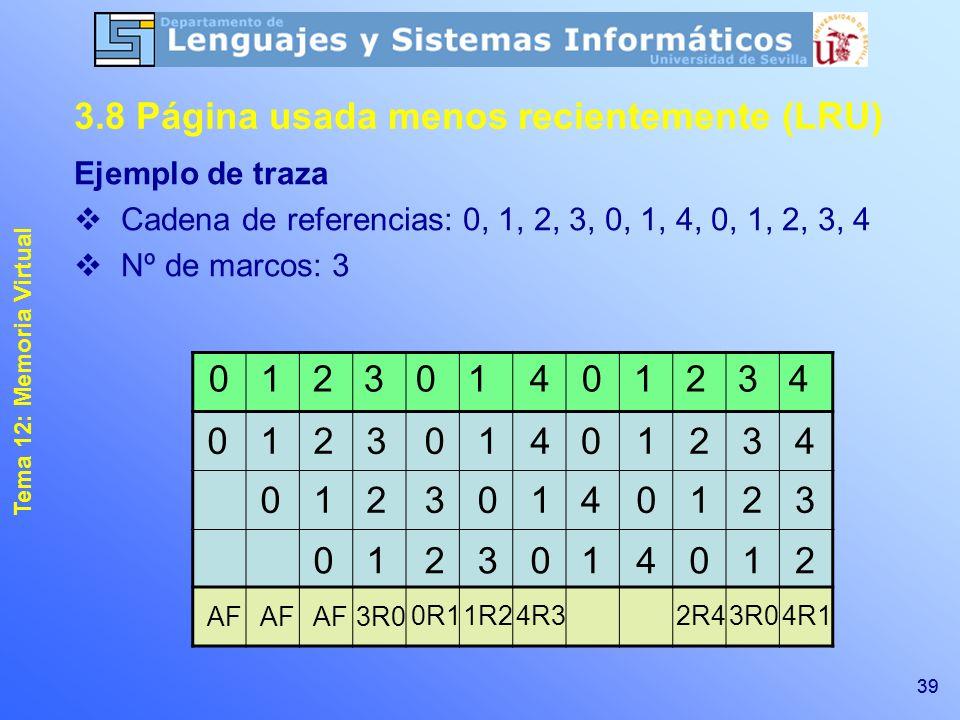 1 Tema 12: Memoria Virtual Sistemas Operativos (Tema 13 en apuntes ...