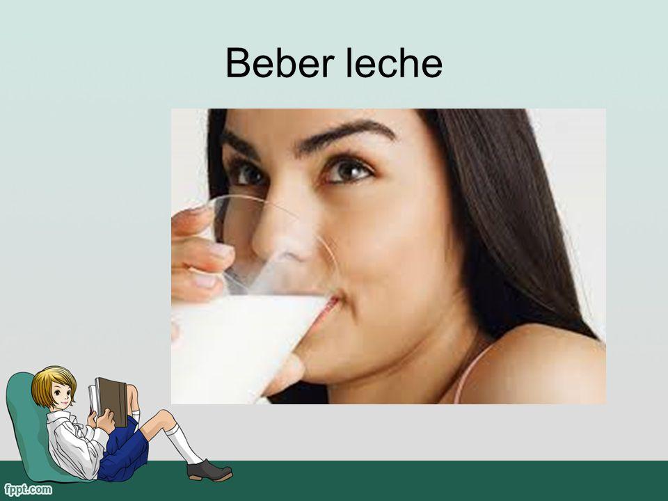 Beber leche