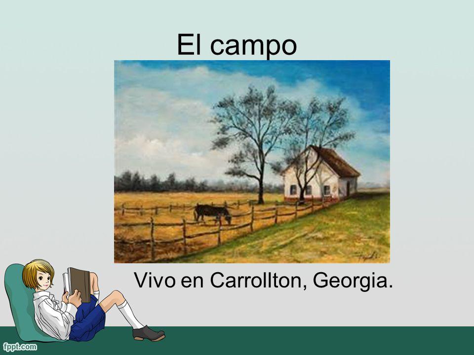 El campo Vivo en Carrollton, Georgia.