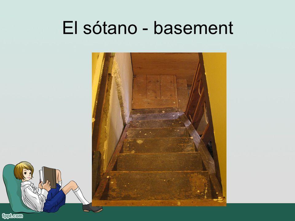 El sótano - basement
