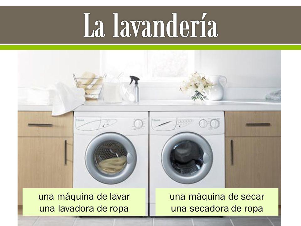 una máquina de lavar una lavadora de ropa una máquina de secar una secadora de ropa