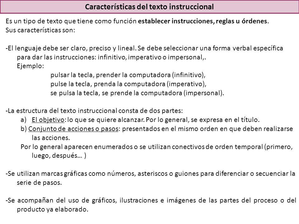 Es un tipo de texto que tiene como función establecer instrucciones, reglas u órdenes.