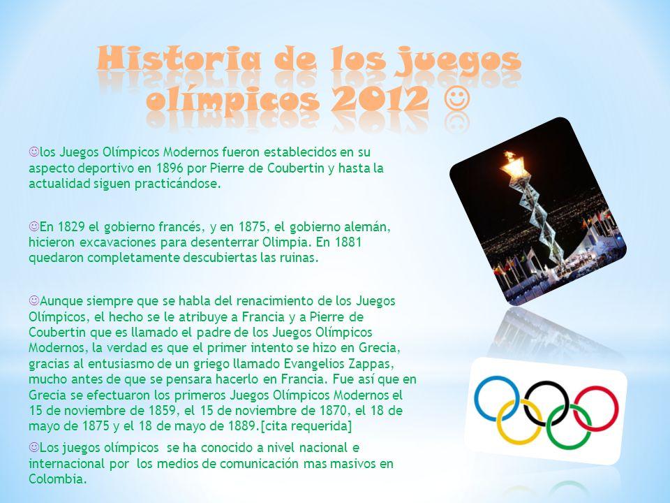 los juegos olmpicos modernos fueron en su aspecto deportivo en por pierre de coubertin y hasta la actualidad siguen