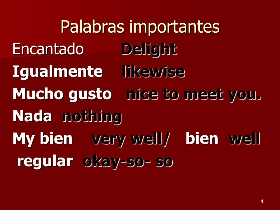 Preguntas importantes 1.¿Cómo se dice book en español.