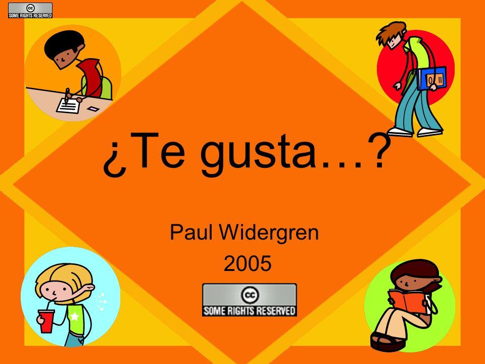 ¿Te gusta…? Paul Widergren 2005