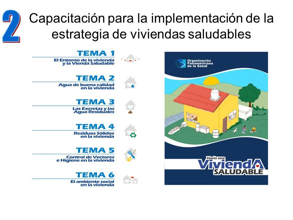 Capacitación para la implementación de la estrategia de viviendas saludables