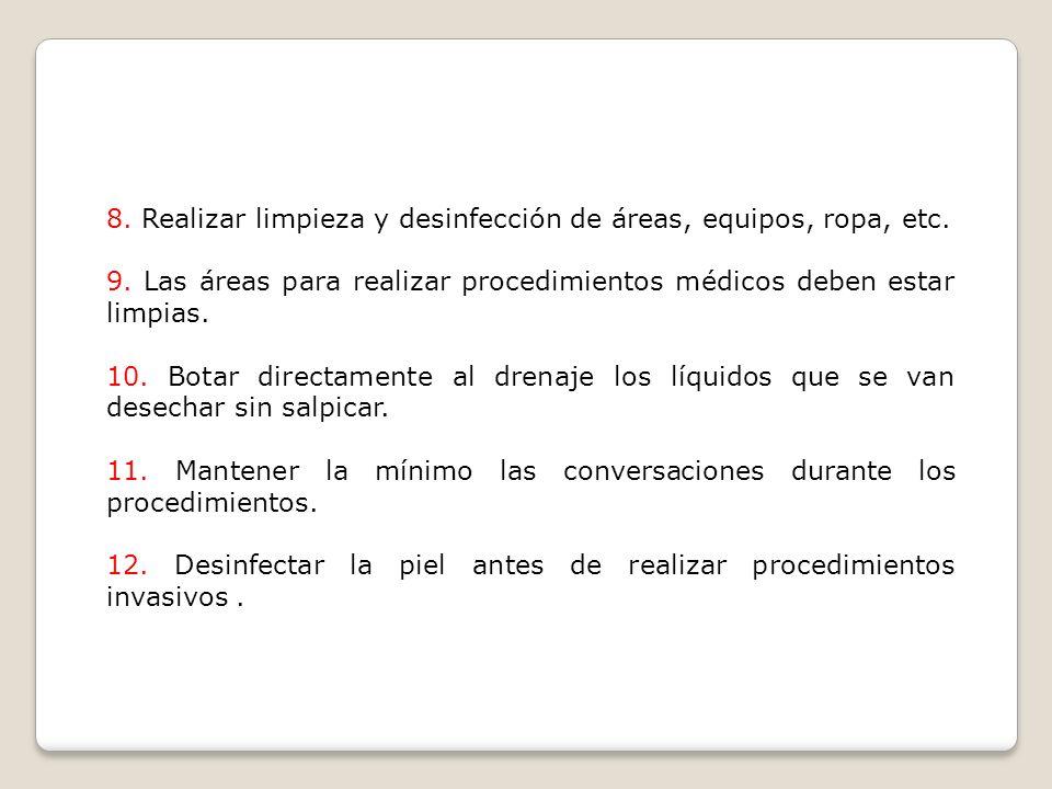 REGLAS BASICAS DE ASEPSIA MEDICA 1.