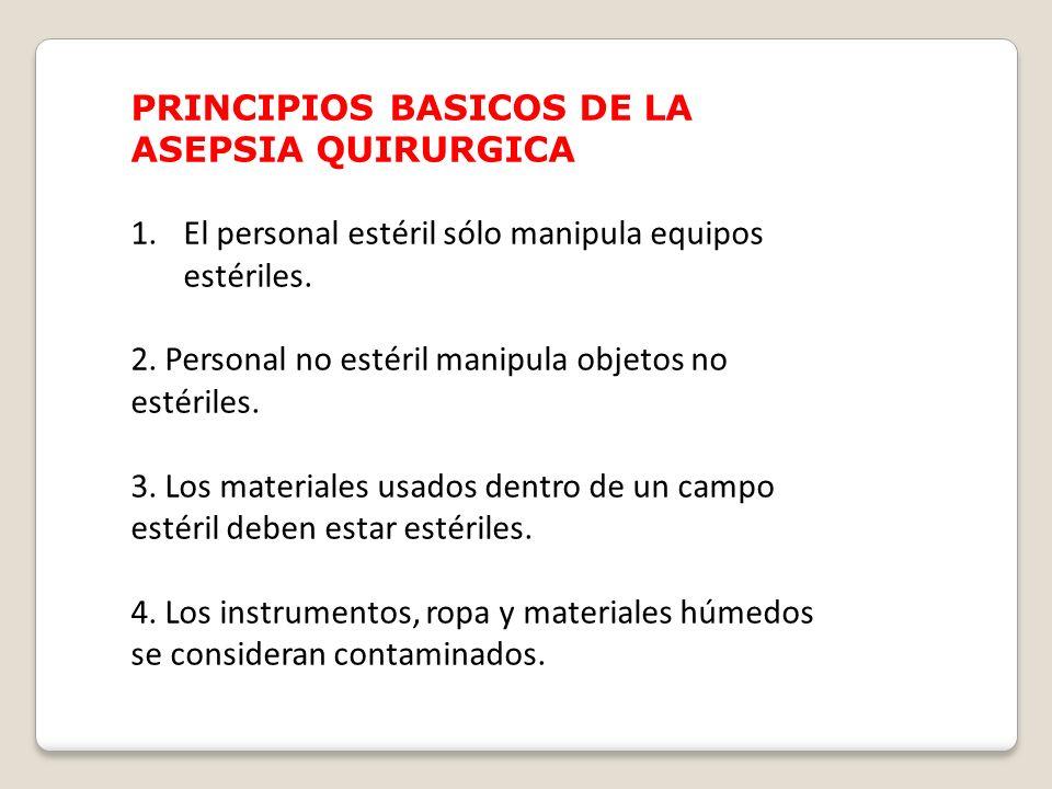 14. Separar áreas limpias de las sucias de acuerdo a los procedimientos a realizar (preparar medicamentos, depósito de residuos contaminados, de ropa