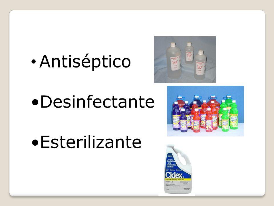 DIFERENCIA DE CONCEPTOS Limpieza Desinfección Esterilización