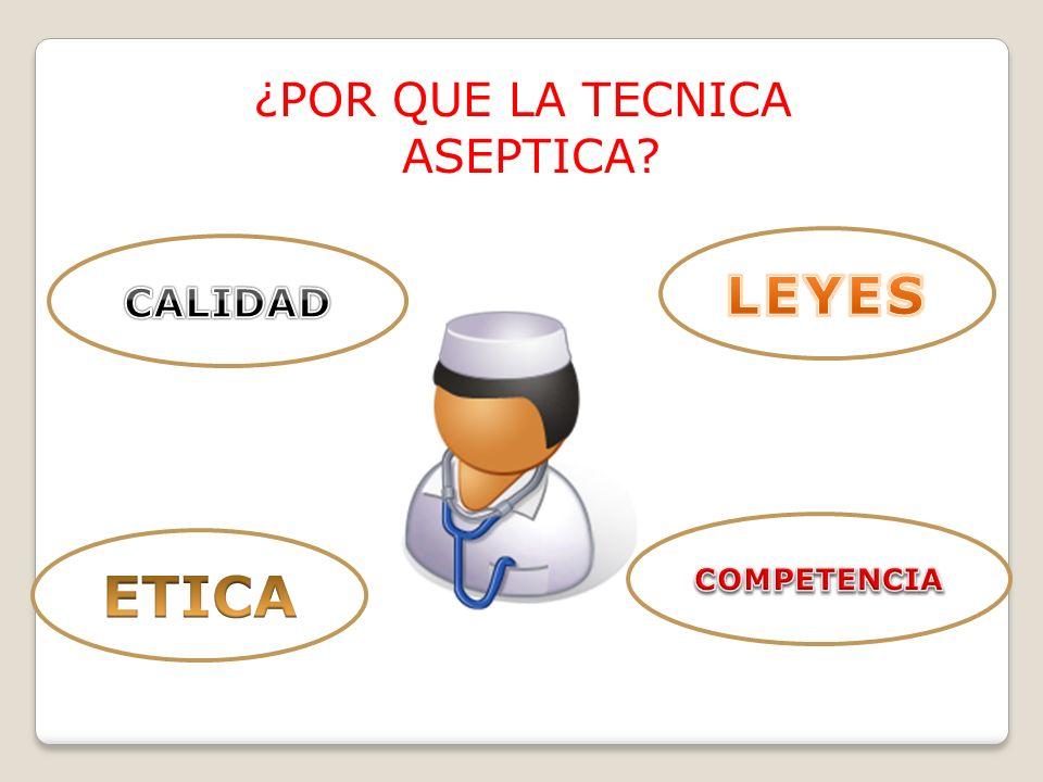 * Concepto de Asepsia: Ausencia de microorganismos que producen Enfermedad.