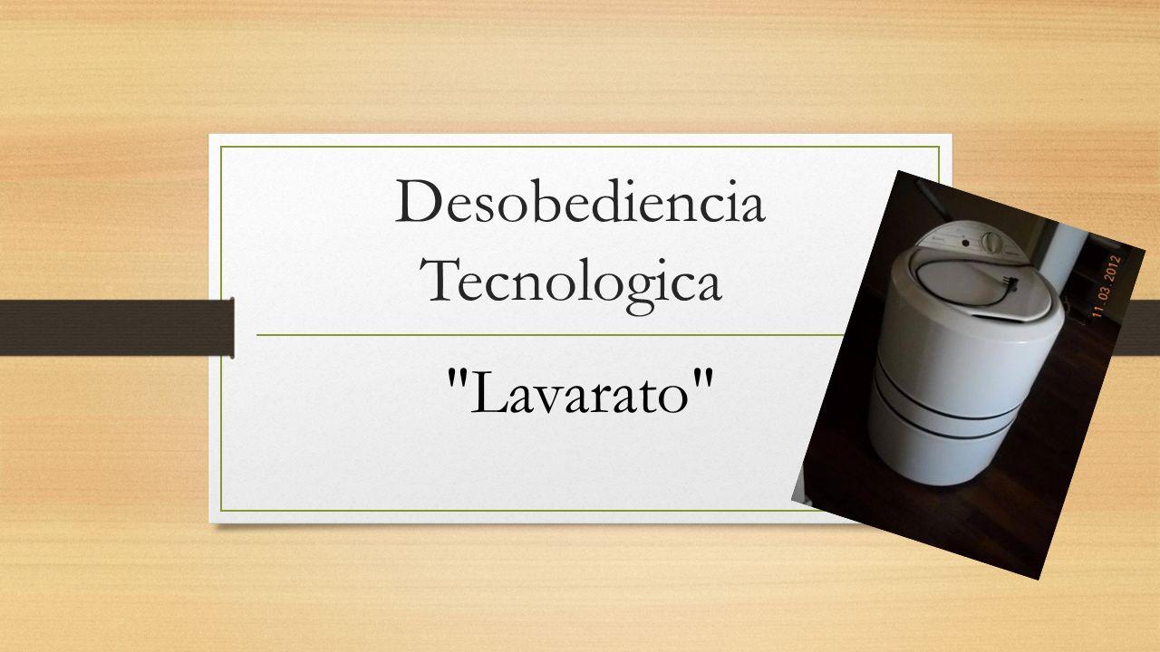 Desobediencia Tecnologica