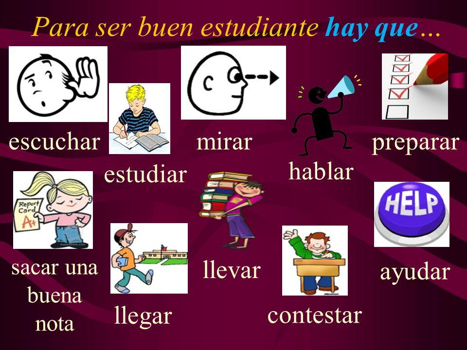Los estudiantes van a aprender vocabulario nuevo para expresar con qué frecuencia hacen varias actividades.