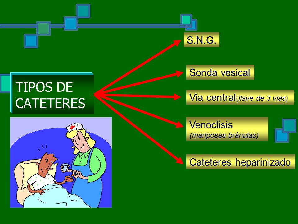 TIPOS DE CATETERES S.N.G.