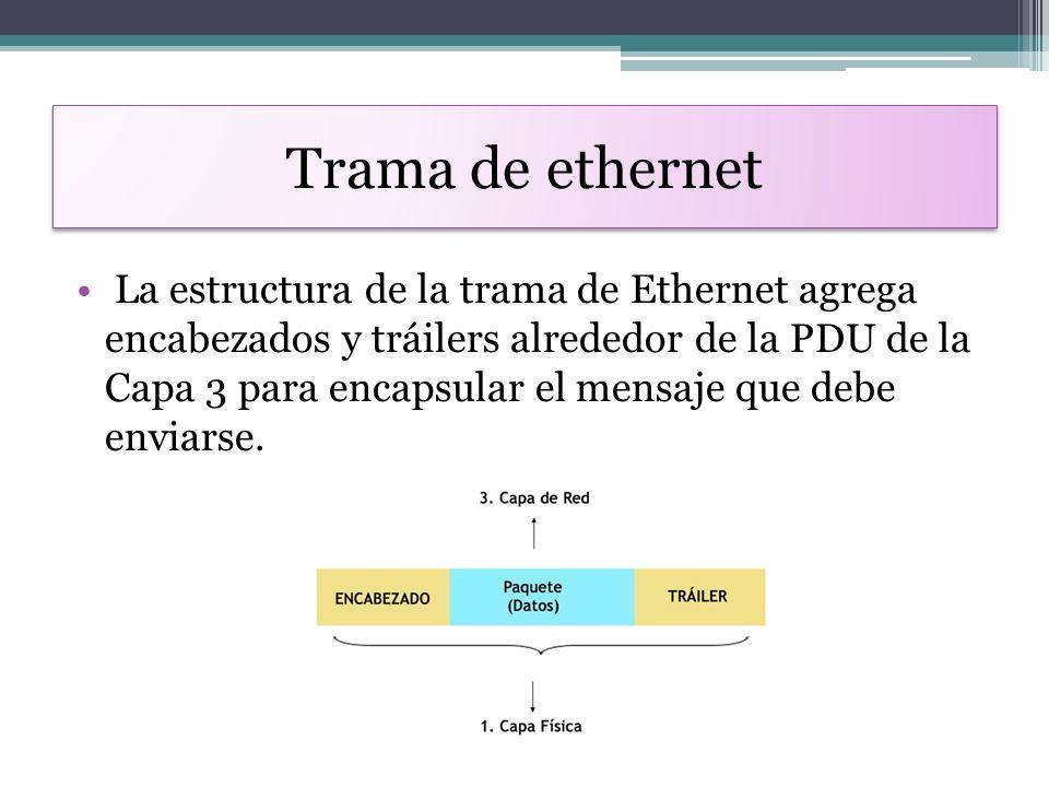 Fantástico Estructura De Trama Ethernet Patrón - Ideas ...