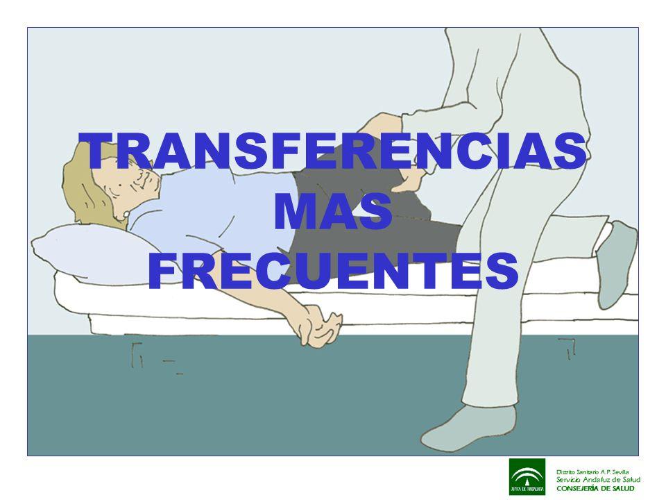 TRANSFERENCIAS MAS FRECUENTES