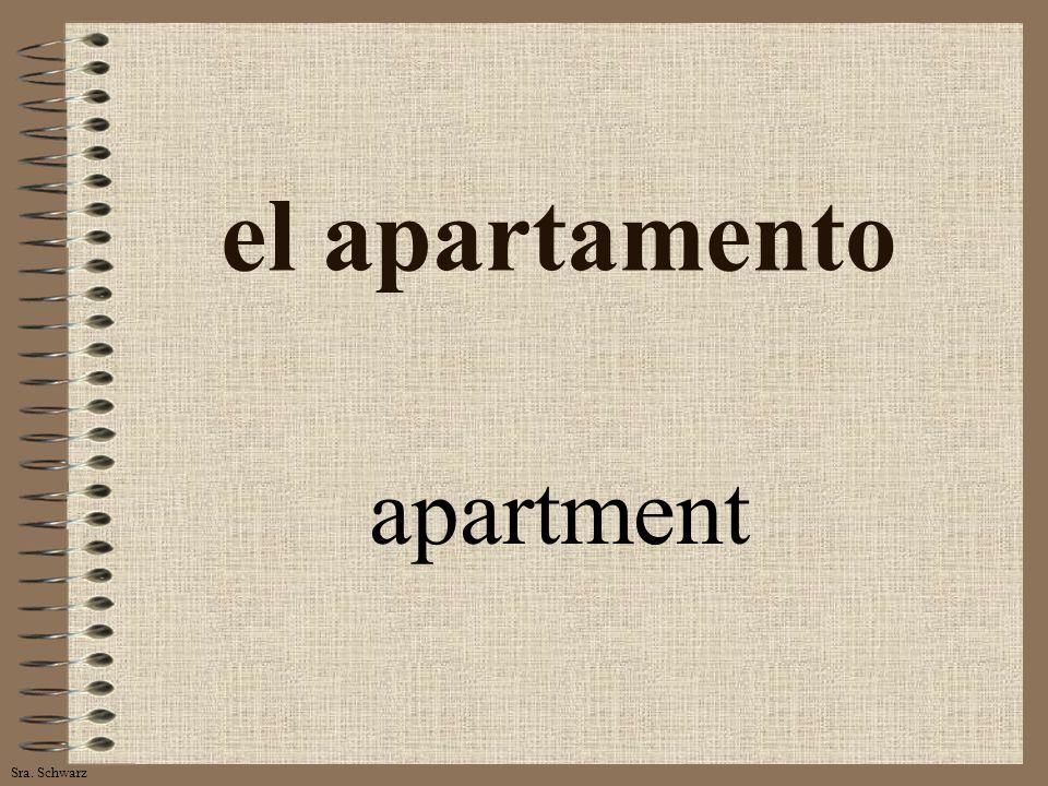 Sra. Schwarz el apartamento apartment