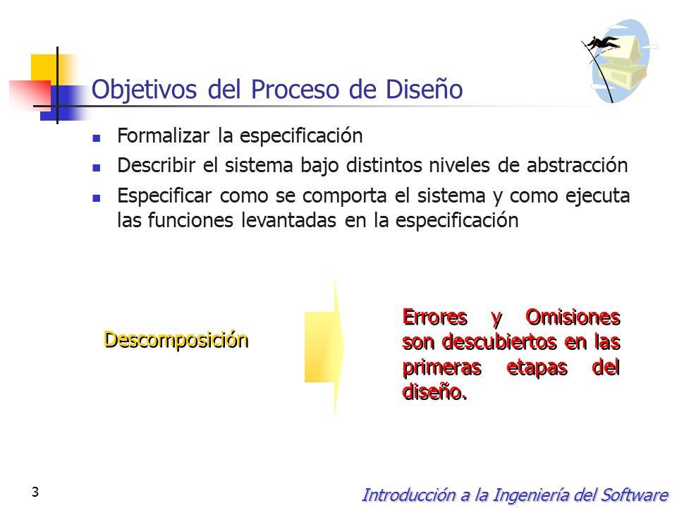 introducción a la ingeniería del software 1 el diseño de software