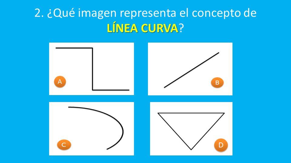LÍNEA CURVA 2. ¿Qué imagen representa el concepto de LÍNEA CURVA