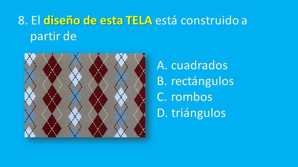 diseño de esta TELA 8. El diseño de esta TELA está construido a partir de A.