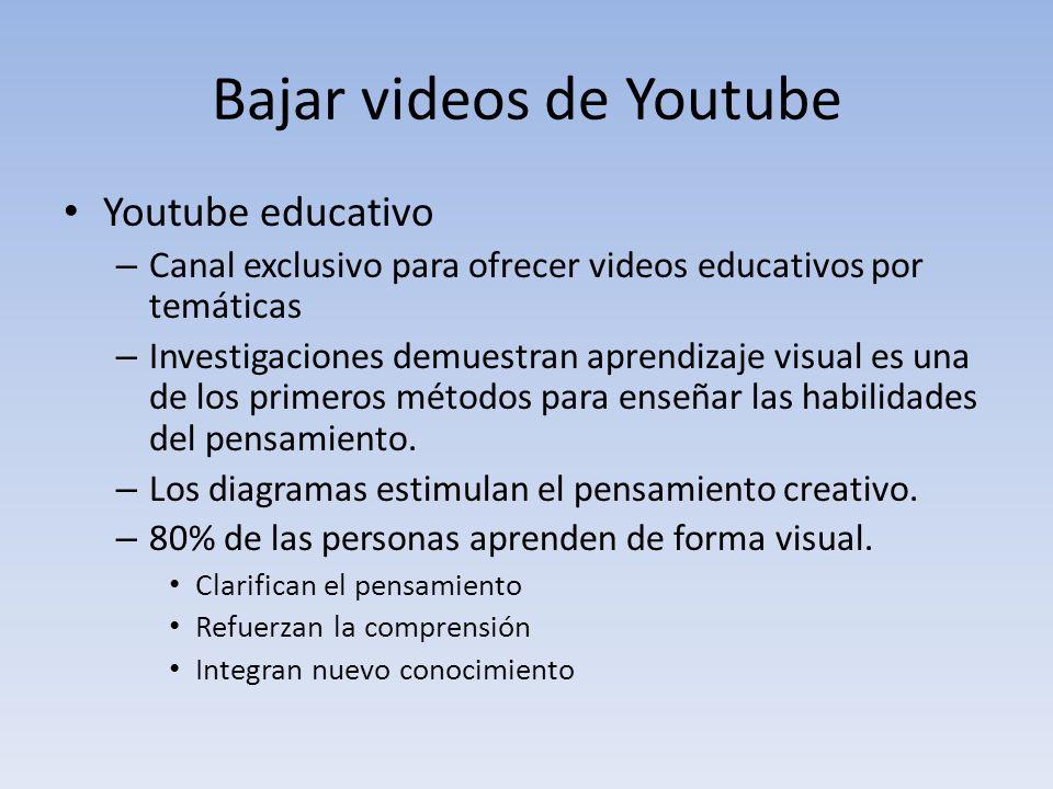 descargar videos de youtube online