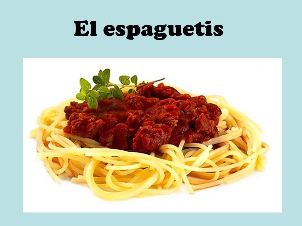 El espaguetis
