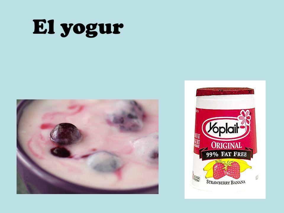 El yogur