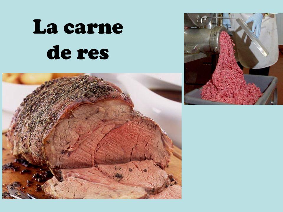 La carne de res