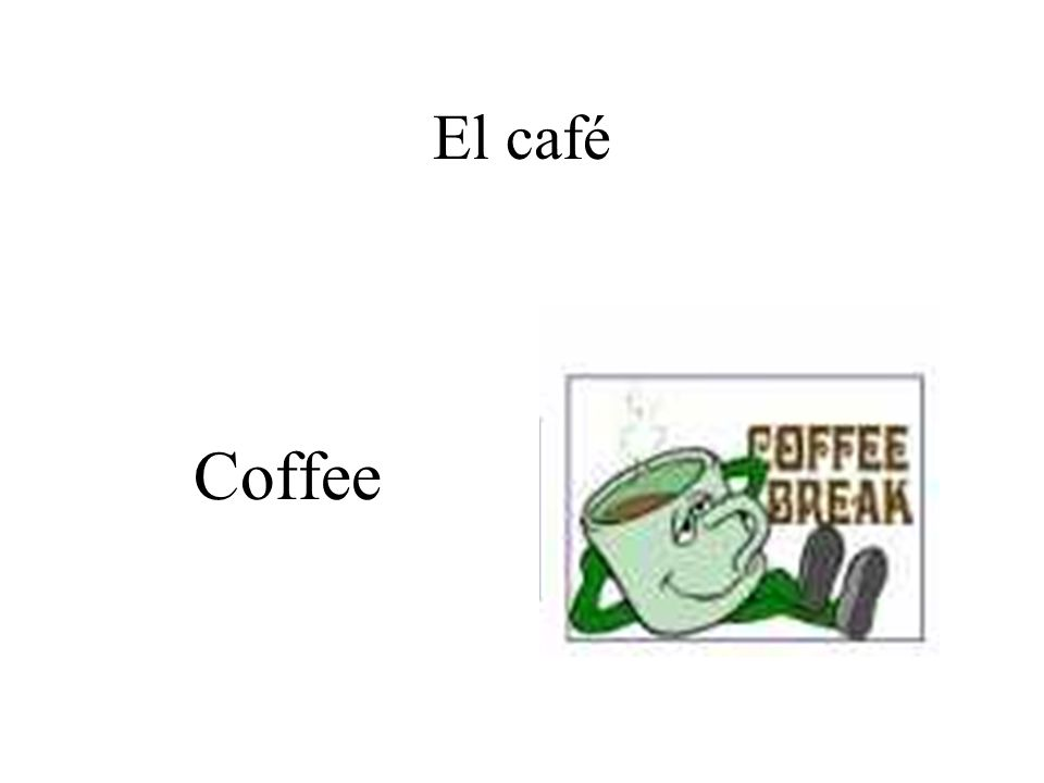 El café Coffee