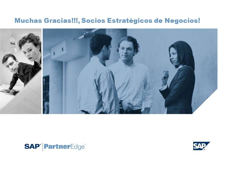Muchas Gracias!!!, Socios Estratégicos de Negocios!