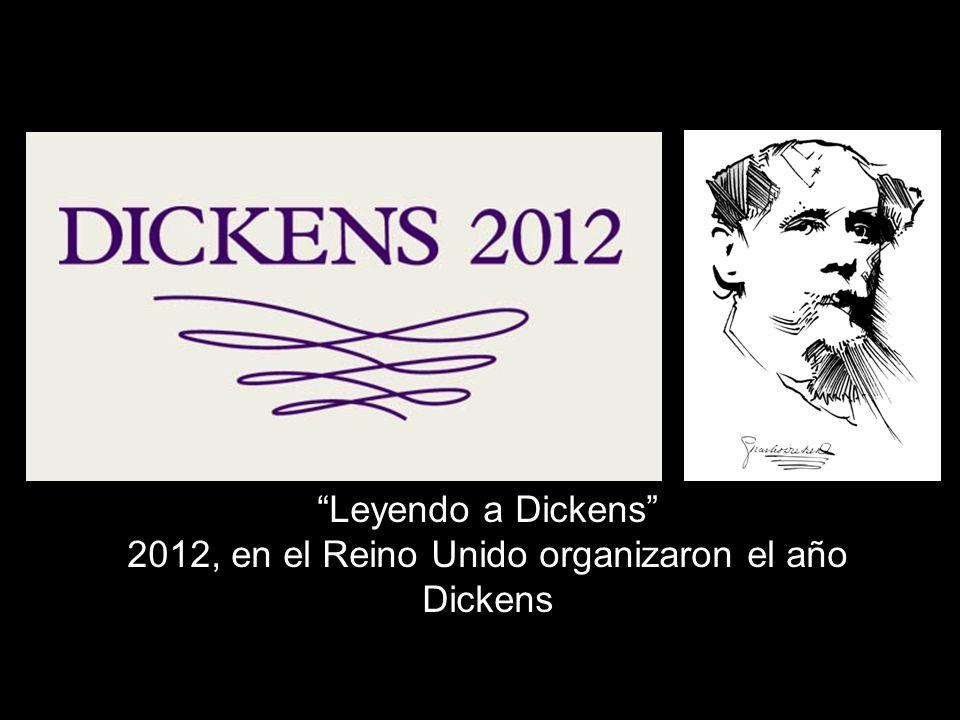 Leyendo a Dickens 2012, en el Reino Unido organizaron el año Dickens