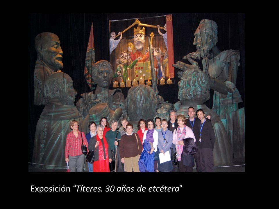 Exposición Títeres. 30 años de etcétera