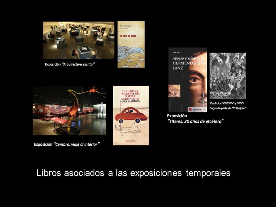 Libros asociados a las exposiciones temporales