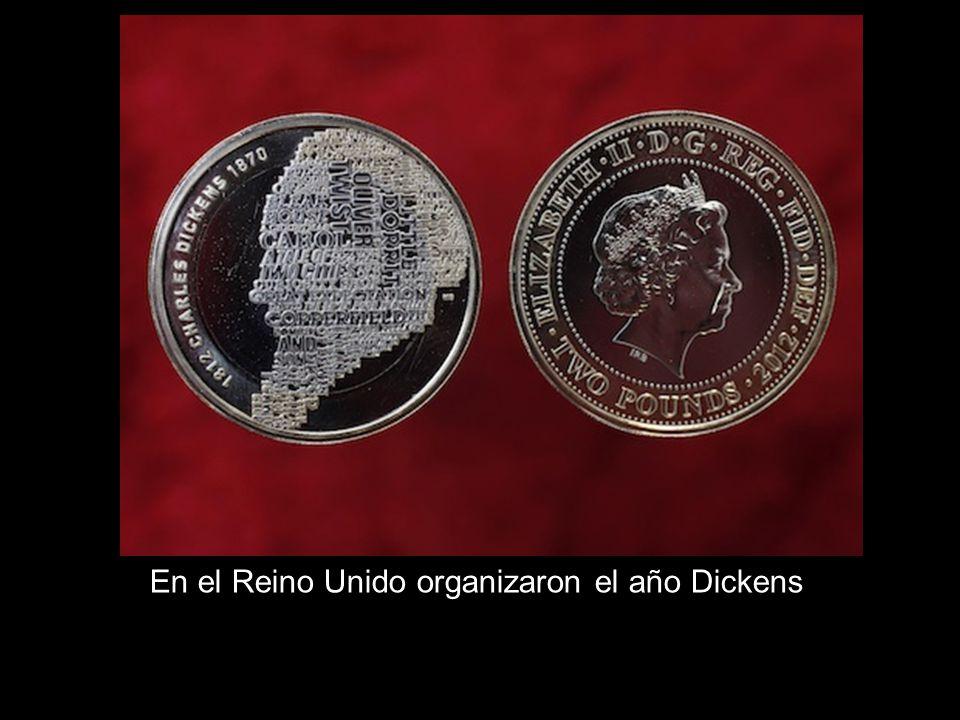 En el Reino Unido organizaron el año Dickens