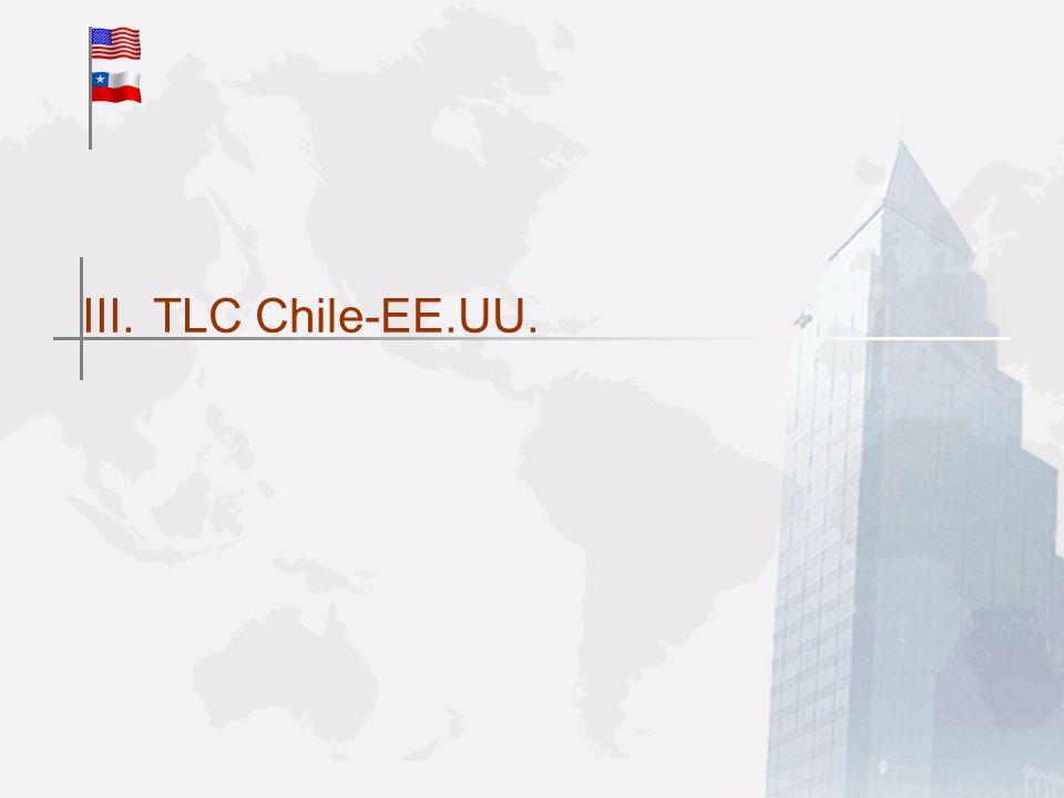 III.TLC Chile-EE.UU.