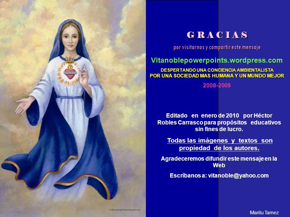Copia y comparte la dirección de este pps: http://vitanoblepowerpoints.wordpress.com/files/2010/01/yo-soy-maria.pps Marilu Tamez
